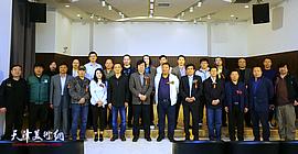 """""""欢乐的节日""""王成油画作品展在天津市群艺馆开幕"""