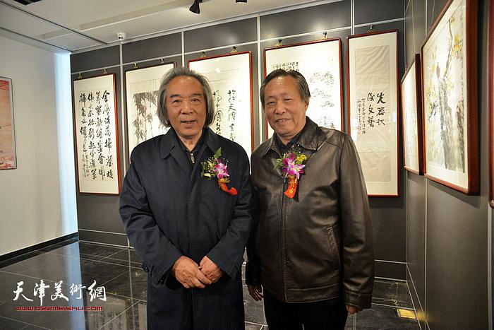 刘国胜与霍春阳先生