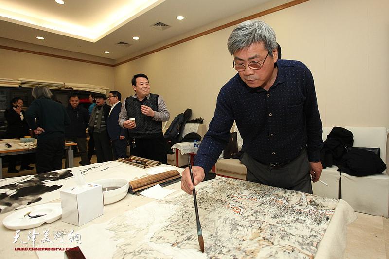 天津巨龙画院学术研讨会