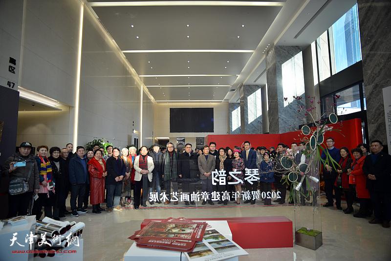 """""""琴之韵—2020贺新年高建章油画艺术展""""在中国人寿金融中心大厦展出"""