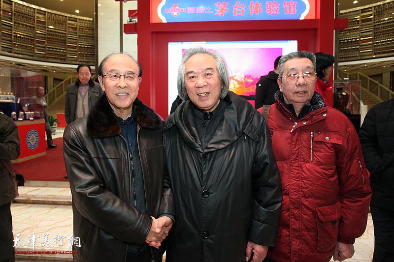 霍春阳、李清和、曹剑英在现场。