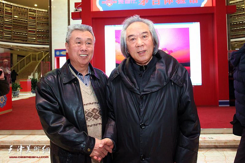 霍春阳、王建涛在现场。