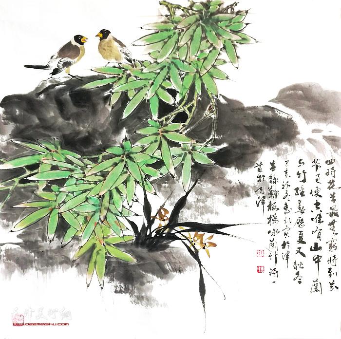 王惠民花鸟画