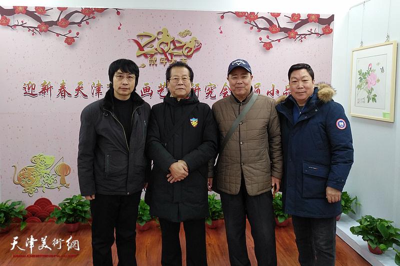迎新春天津市书画艺术研究会会员小品展