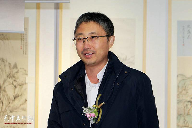 中冶置业天津公司董事长刘国宁致辞。