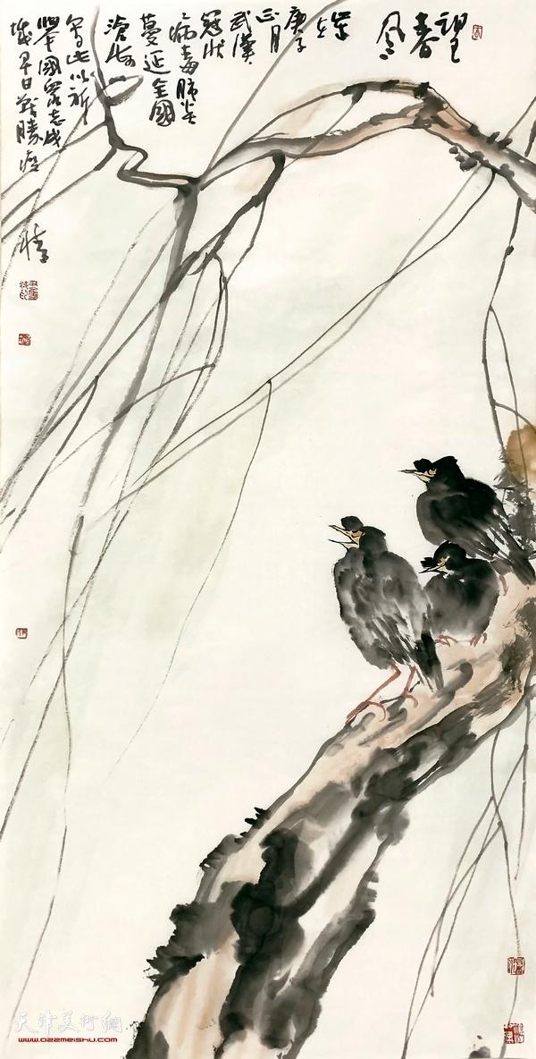 名称:望春图 作者:尹沧海