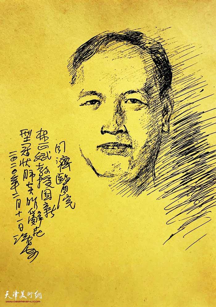 尹沧海抗疫速写:林正斌教授