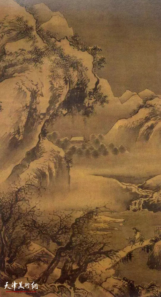 明 吴伟 《灞桥风雪图》