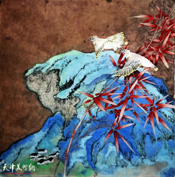 于云香作品:《平安讯》  中国画