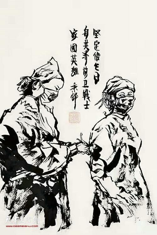 张辉作品:《坚定信念》 速写