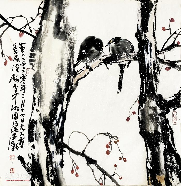 尹沧海新作:《林间》
