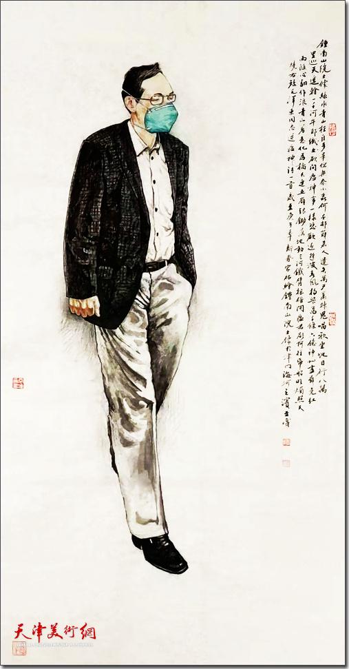 隋家祐作品《中国有座山--钟南山》
