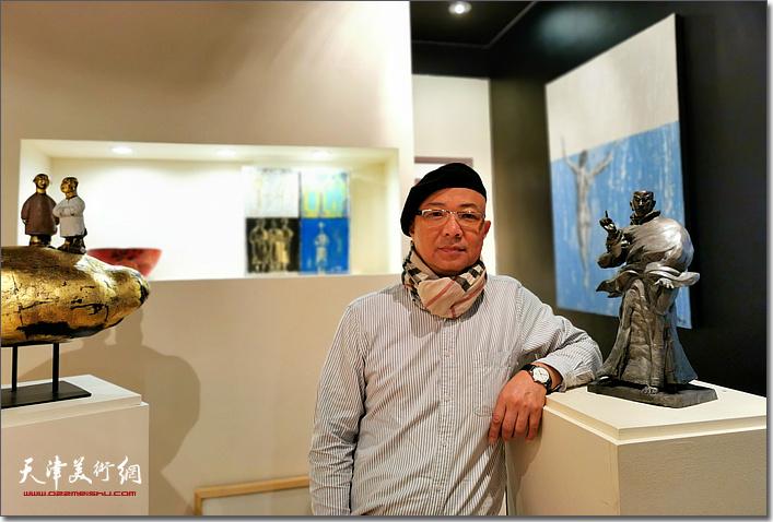 雕塑家王海林
