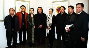 肖映梅写意花鸟中国画展在天美时代展览中心开幕