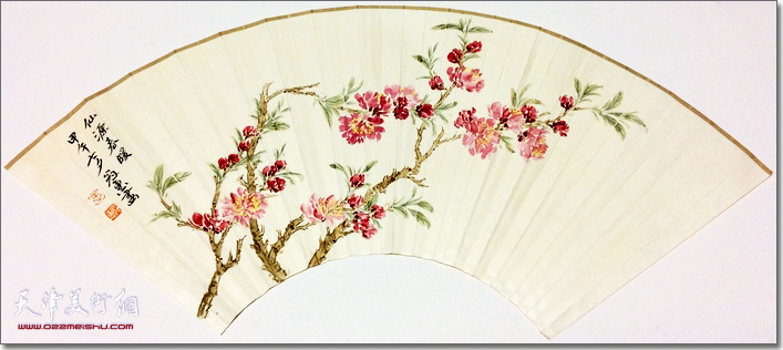 王冠惠作品:《仙缘春暖》