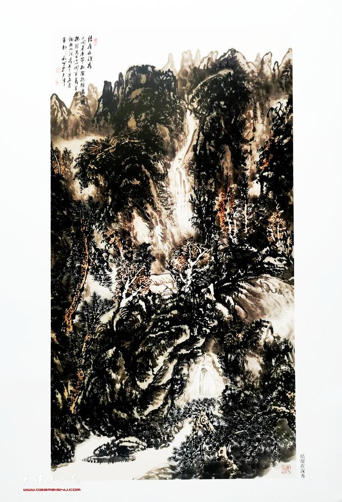 卢新利作品:《结屋在深秀》