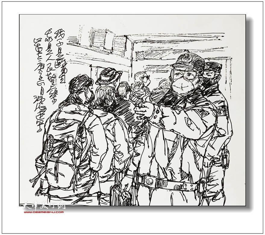 尹沧海速写:我不是医生,我是人民警察