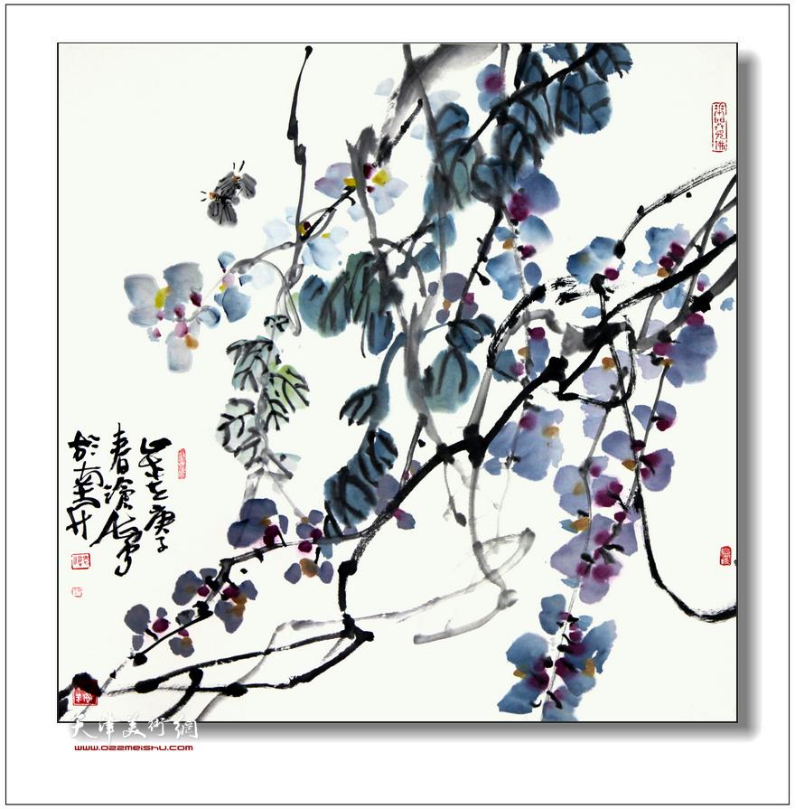 尹沧海中国画作品