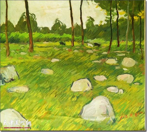 刘国柱作品:小树林