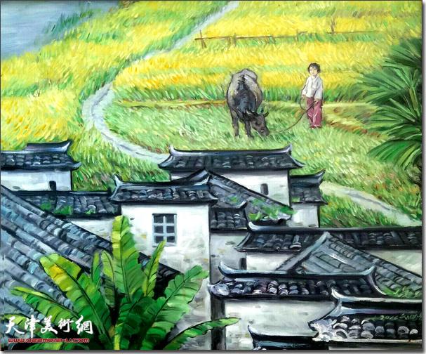 刘国柱作品:田园