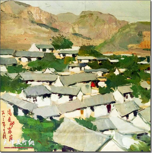 刘国柱作品:山居