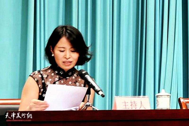 """""""观照轩""""总经理赵彦菊当选津南区民间文艺家协会主席。"""