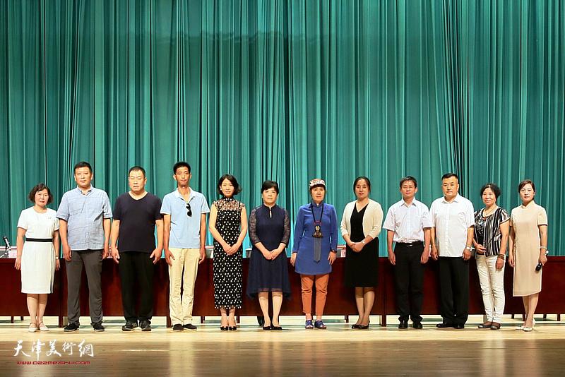 津南区民间文艺家协会成立大会现场。