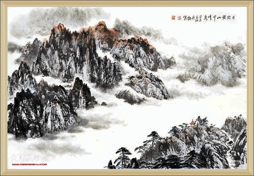 赵兵凯先生山水画作品