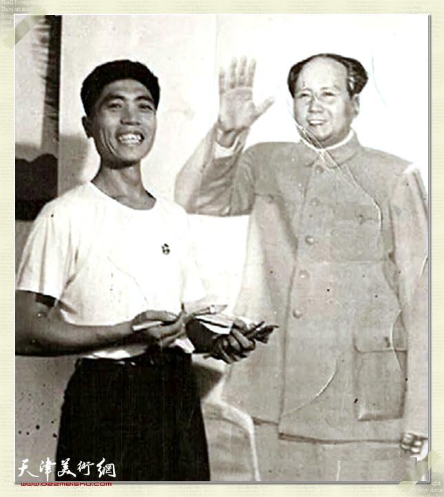 鲁艺四老兵:赵泮滨。