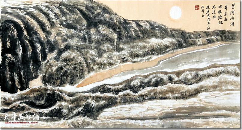 徐燕捐赠的书画作品