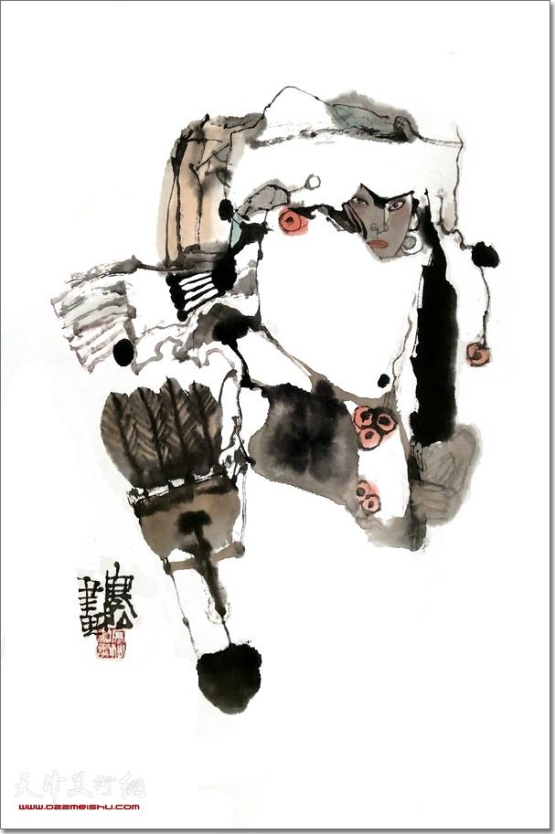 马寒松作品:猎人阿皂