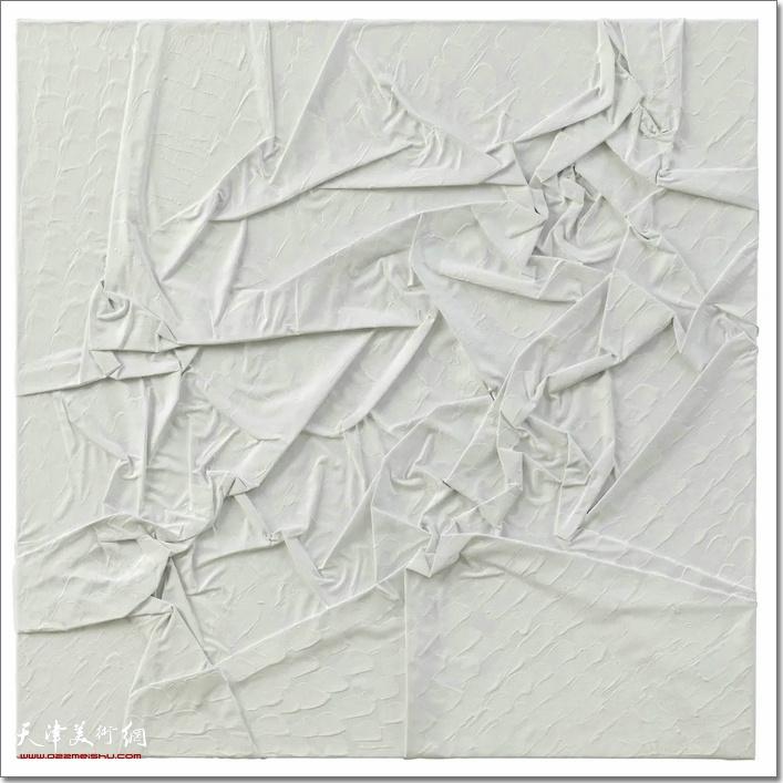 维相系列之交, 布面丙烯, 100×100 cm, 2019