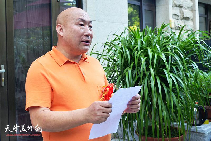 宝德(天津)安防科技股份有限公司总经理、天津恒峰国际拍卖有限公司执行董事吴智国