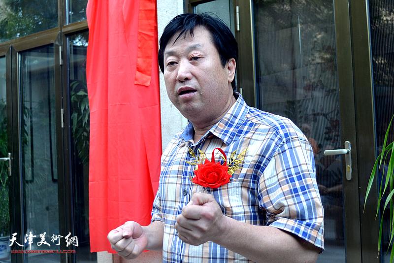 天津南开画院活动中心主任、天津南开画院副院长、河北美术学院教授刘胜洋