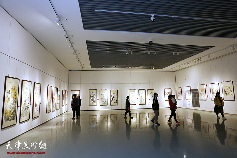 百年湖社——天津湖社美术家作品展