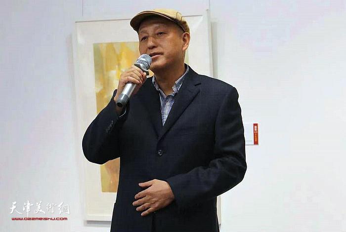 田子坊商会秘书长刘均方先生致辞