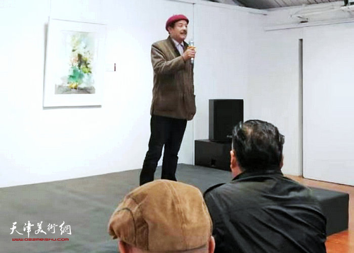 杭州知青书画院常务副院长方祖汉先生致辞