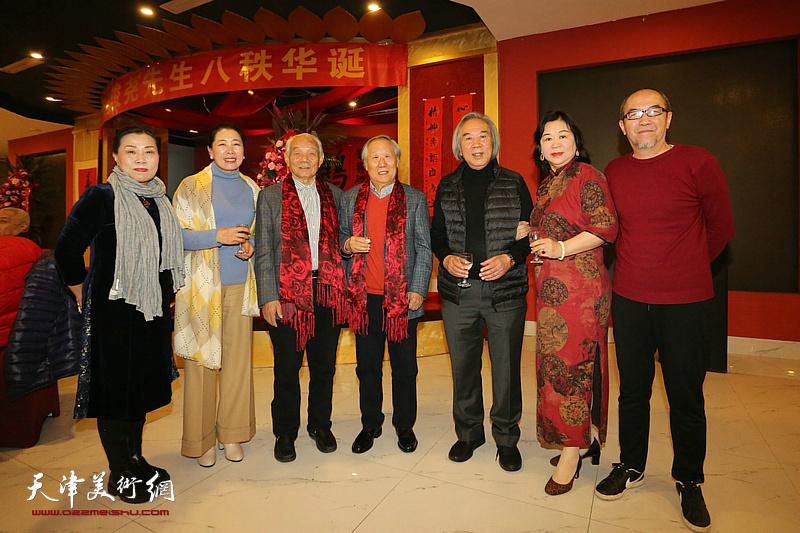 笔墨雄心在 八十再出征——天津市书画家贺姬俊尧先生伞寿