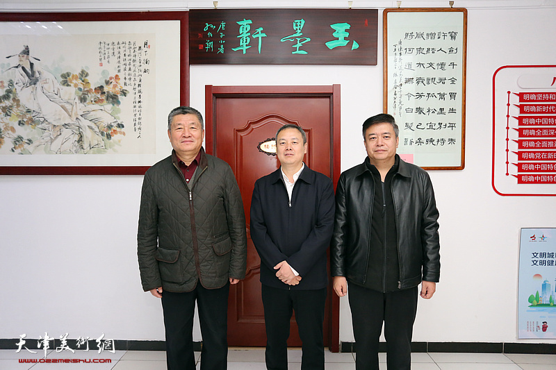 河西区政协副主席卜艳丰走访梅江书画院调研文化惠民工作