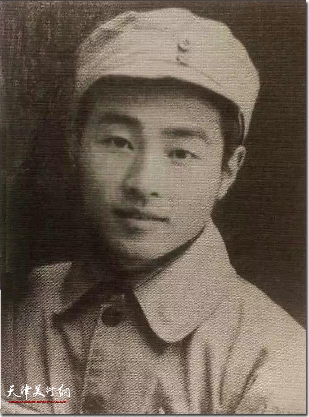1944年秦征先生在晋察冀抗日根据地