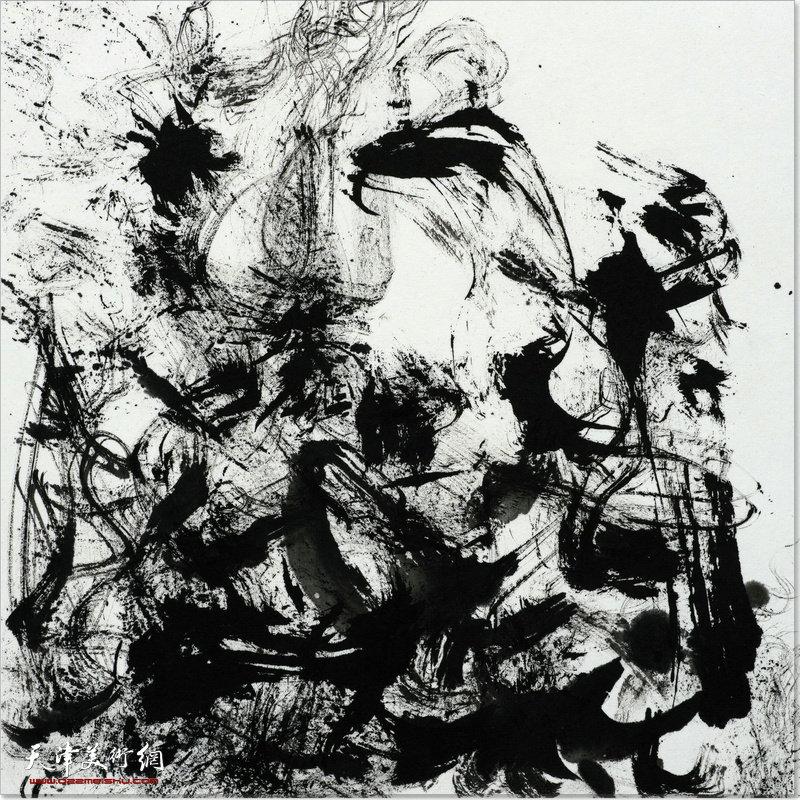 书写画意——曹易水墨艺术作品