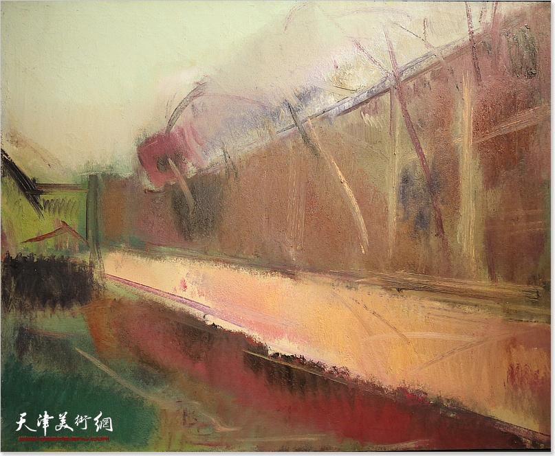 蒋长虹油画展