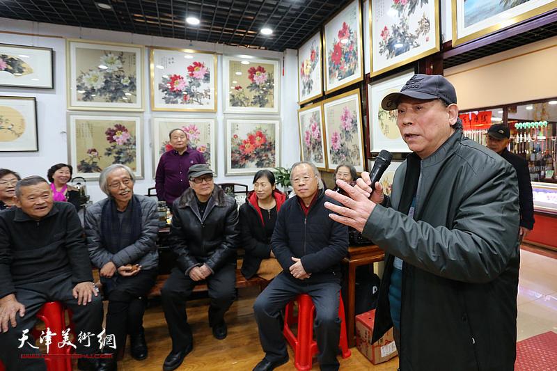 华堂焕彩——著名画家冯字锦彩墨牡丹作品展