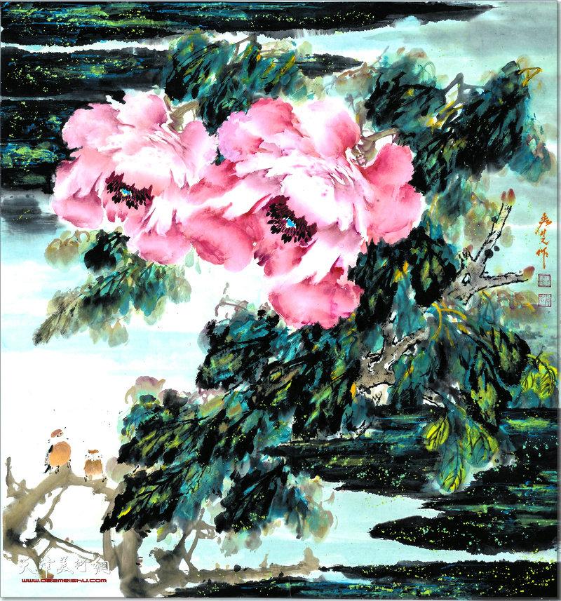 刘秀芝作品:牡丹