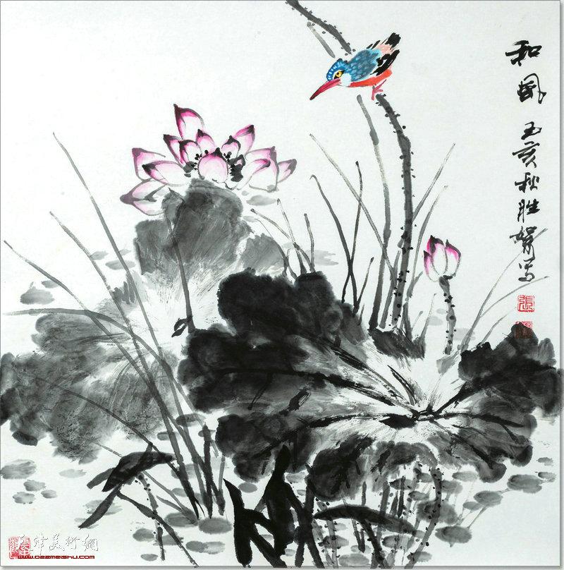 张胜絮作品:和风