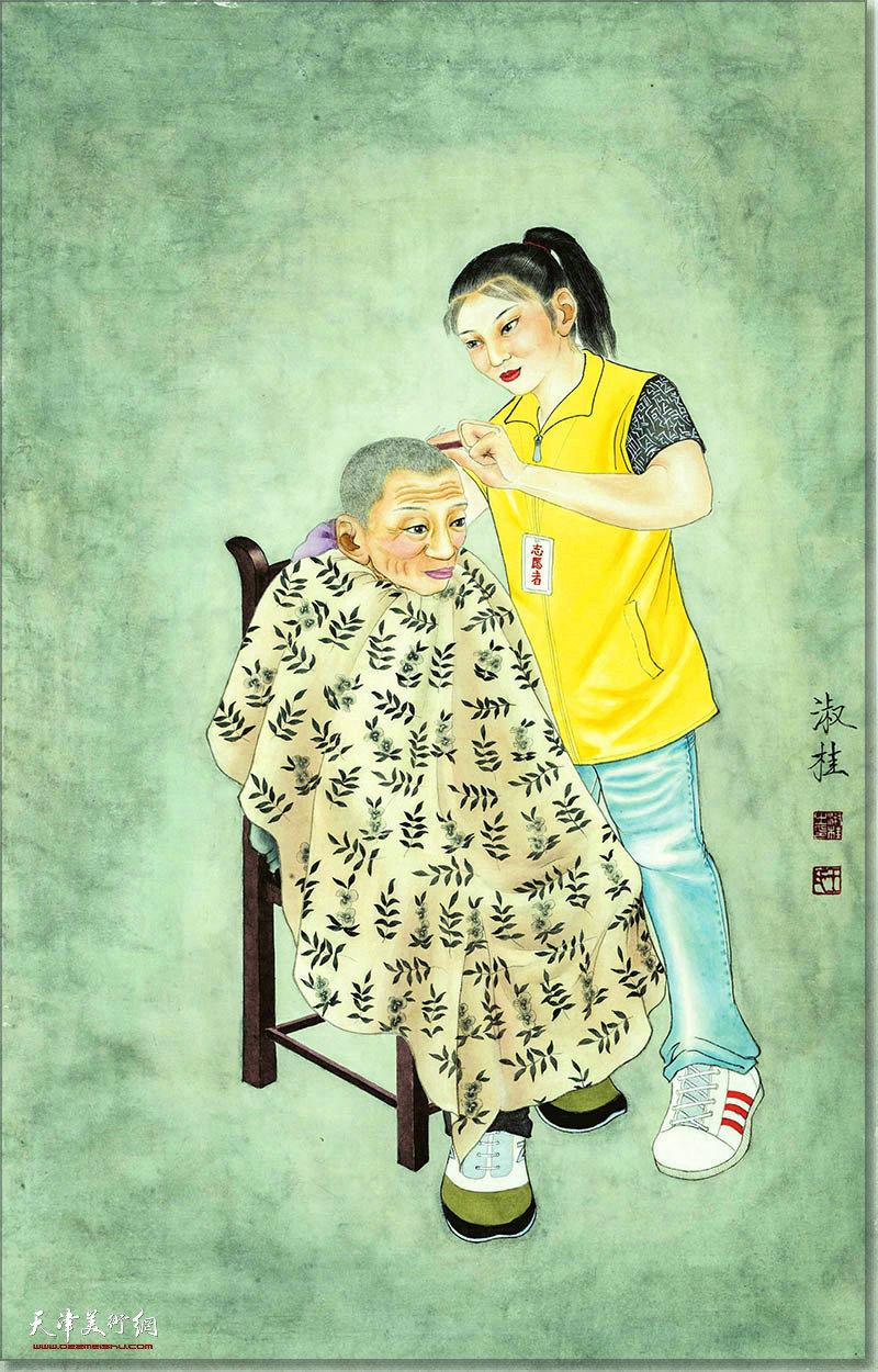 王淑桂作品:志愿者