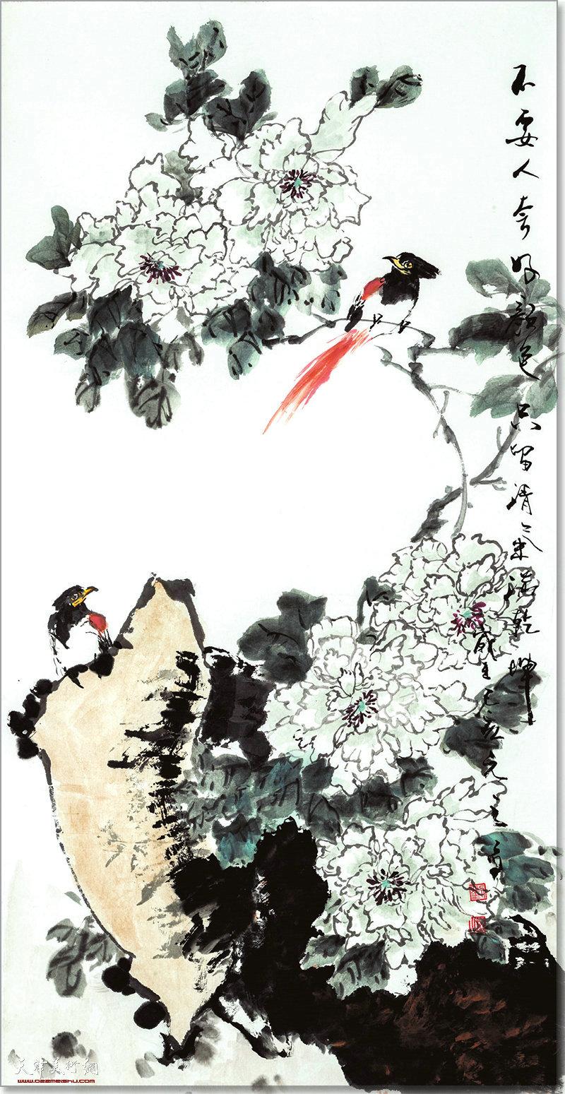 刘元之作品:只留清气满乾坤