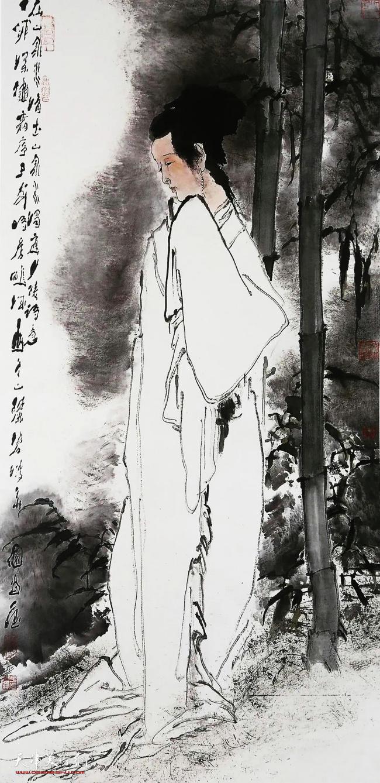 王子武先生作品:唐人诗意