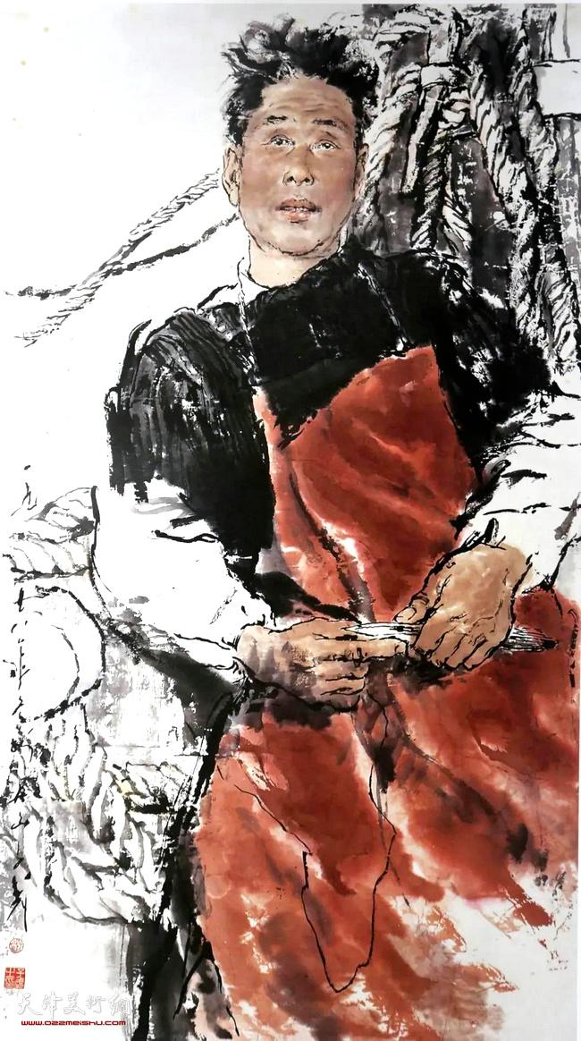 王子武先生作品:东海渔民