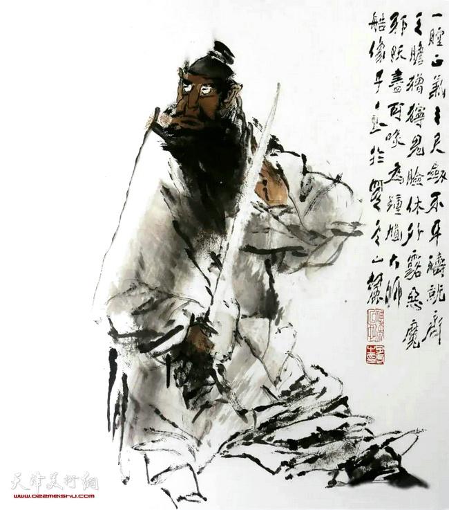 王子武先生作品:终南进士